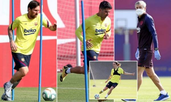 5 Barcelona players tested positive for Covid-19